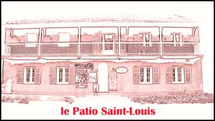 logo le patio saint louis BD